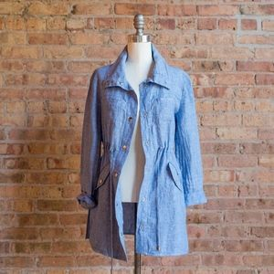 NWT Chico's Linen Jacket